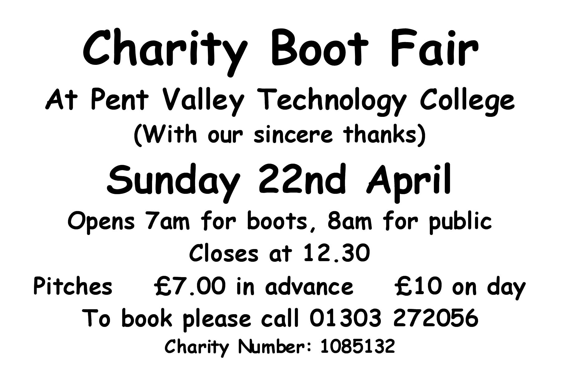 boot fair flyer